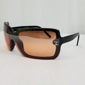 Chanel Black CC 5065 Gradient Lenses Sunglasses